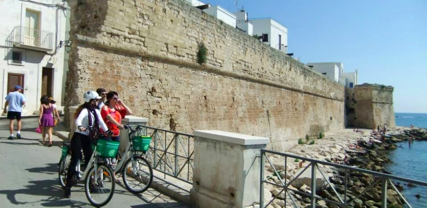 La via Traiana in bici con Taste and Go